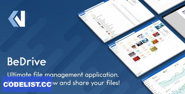 BeDrive v2.2.2 - File Sharing and Cloud Storage