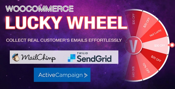 WooCommerce Lucky Wheel v1.0.8 - Spin to win
